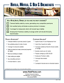 BOPP Hotels and Motels Brochure