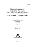 Implementing Fleet Safety Incentive Programs
